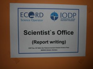 Scientist's Office. Kuva: Aarno Kotilainen©ECORD_IODP